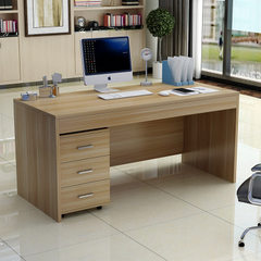 Simple modern computer desk student desk clerk des black A single table of 120 * 60 * 120