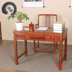 Factory direct sale hedgehog zixuan rosewood furni 1 m 06 single table (no chairs included)