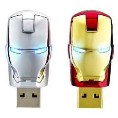 Avengers series U plate iron man creative metal U  Iron man ii 4 gb