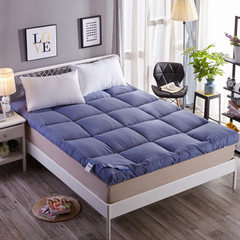 Thickened velvet mattresses without deformation so blue 90 x200cm