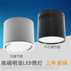Led light installation tube lamp hoisting line 2 inch white shell 3W