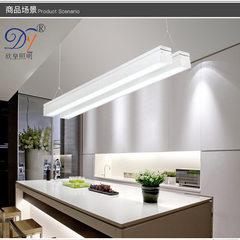 室内吊灯铝材高档线条灯led办公照明灯现代办公室双拼造型条形灯 36