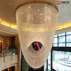 Hotel lobby crystal chandelier villa compound stai 100