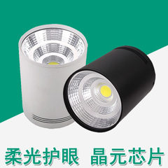 Led open-mounted tube lamp cob spotlights without  The white light 6000 k