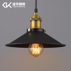 Loft american-style retro industrial led chandelie Industrial restoring ancient ways