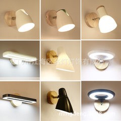 Modern simple wall lamp mirror front lamp hotel gu MB3005 white LED light bulb