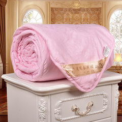All cotton skin-friendly spring and summer cool co Pink just wrapping it around 150 * 180 (2.5 kg)