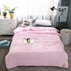 Pure cotton air conditioning by spring and summer  pink 150 x200cm