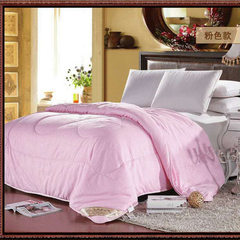 Manufacturer direct selling quilt wholesale will s Buffing - pink 150x200cm 2 jin gift box