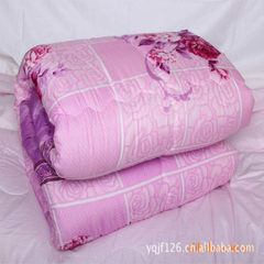 Special printing winter by spring and autumn quilt Peach skin velvet 150 * 200 about 3 kg