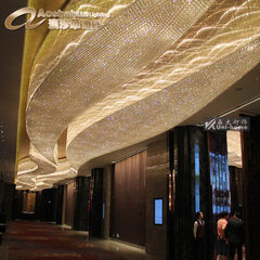 Large hotel engineering light KTV lobby ceiling li Lamp fitting