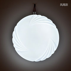 Modern simple led ceiling lamp circular living roo 12 w 270 mm in diameter