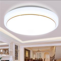 Circular LED ceiling lamp bedroom lamp simple mode 15 watts