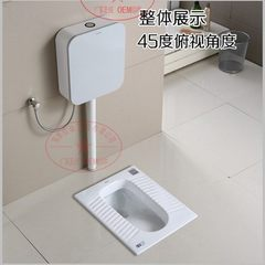 Chaozhou manufacturers squat pit squat toilet dome Complete installation of A water tank (note type)