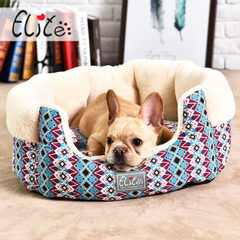 Yili pet wholesale new country style dog kennel do beige S: 45 46 * * H21CM
