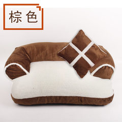 Factory direct sale wholesale dog kennel cat kenne A: the u-shaped sofa is brown 40 cm * 60 S no. :