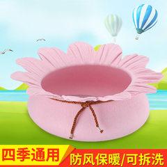 Manufacturers direct selling lotus felted cat kenn Pink lotus 50*50*15CM