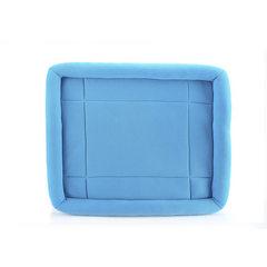 厂家现货 新款 夏天狗垫 猫垫 狗狗窝 猫咪窝 宠物用品 一件代发 网布蓝色 S 60X50X7