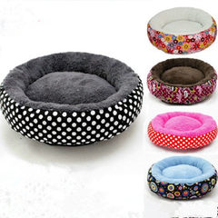 Manufacturer wholesale canvas circular breathable  Black and white points Small diameter 40cm