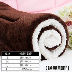 Manufacturer wholesale dog kennel pet cushion dog  brown S no. 50 * 32