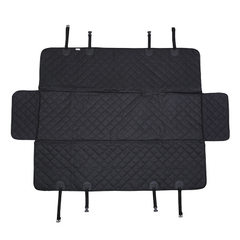 Waterproof car backseat pad car dog pad out rear c Black without zipper 147 * 137 cm