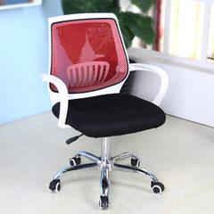 厂家批发现代时尚网布椅靠背椅办公椅职员等候休闲椅餐椅电脑椅子 白色