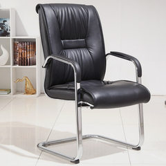 Simple office chair home computer chair bow-legged black