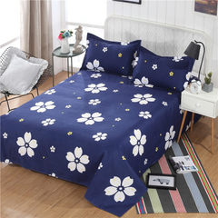 2018 new cotton bed sheets in the 60S single piece 120 * 220