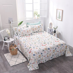 Factory price direct printing single cotton single Pillowcase a pair of