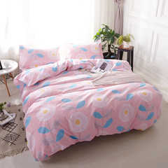 The bare sleeping and frosted four-piece cotton im 1.2 meters