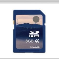 Manufacturer wholesale SD large card sd8G camera d 2 gb
