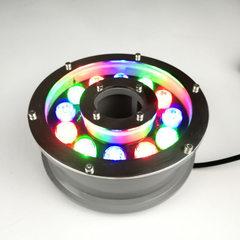 led喷泉灯 水底灯 户外广场防游泳池灯  七彩RGB水下灯景观灯 6