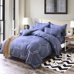 Factory direct sale special price printed aloe cot 1.5*2 quilt cover