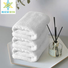 Hotel towels wholesale foot bath beauty salon pure The 21 - line plain weave face towel 120g