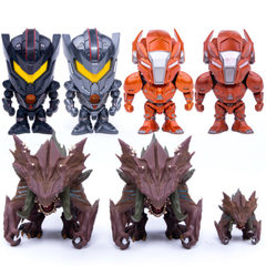 Pacific rim 2 super monster saber Athena revenge r The 4-inch super monster