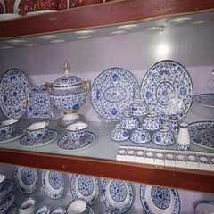 Jingdezhen Bone Porcelain Tableware Set 86 Top-grade Ceramic Bowls and Dishes Creative Euro-style Chopsticks Combination Gift Customization