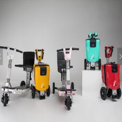 Famale Mobility Scooter