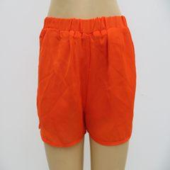 Women's double Chiffon skirt, super-thin close-fitting comfortable skirt pants black M