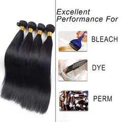 human hair straight hair