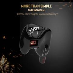KZ ZS3 Input Earphone Heavy Bass HIFI Music Mobile Phone Wire-Controlled Headphone with Microphone Plug-in Earplug