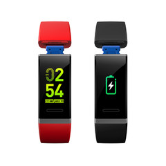 2018 new V11 smart Bracelet blood pressure heart rate health monitoring Bluetooth motion information reminder color screen Bracelet