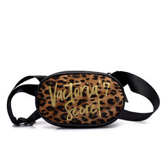 2008 new fashion woven leather lady inclined bag leopard print small round bag single shoulder bag black 18*6*11cm