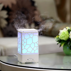 Water Cube Aromatherapy Machine Amazon Cross-border New Essential Oil Ultrasound Aromatherapy Machine LED Nightlight Home Gift