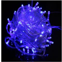 10-meter 100-lamp LED lamp string courtyard lamp Christmas tree decorative lights festival color lights
