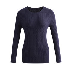 A new round neck sweater in autumn and winter.