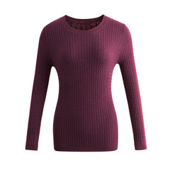 A new round neck sweater in autumn and winter. Tibetan blue S