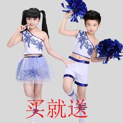 六一儿童啦啦队男女健美操 啦啦操 演出服表演服服装小学生运动会